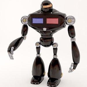 3D robot police