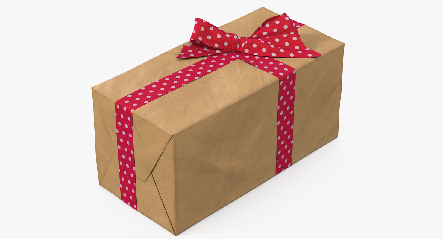 gift box paper 3 3D model