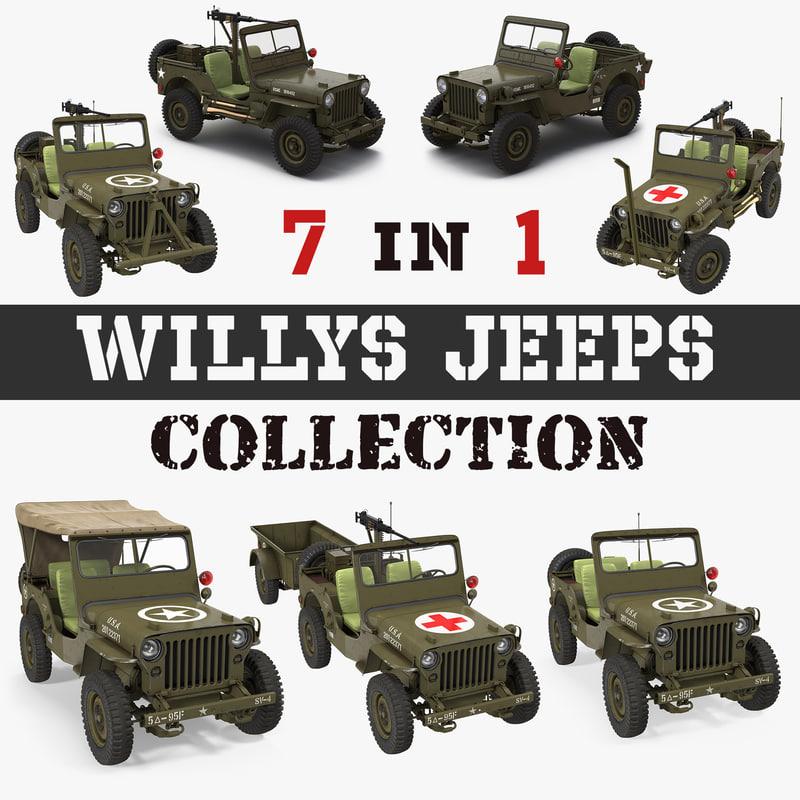 willys jeeps model