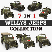 Willys Jeeps Collection