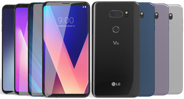 realistic lg v30 colors model