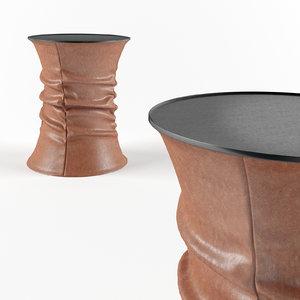 3D model bellows table