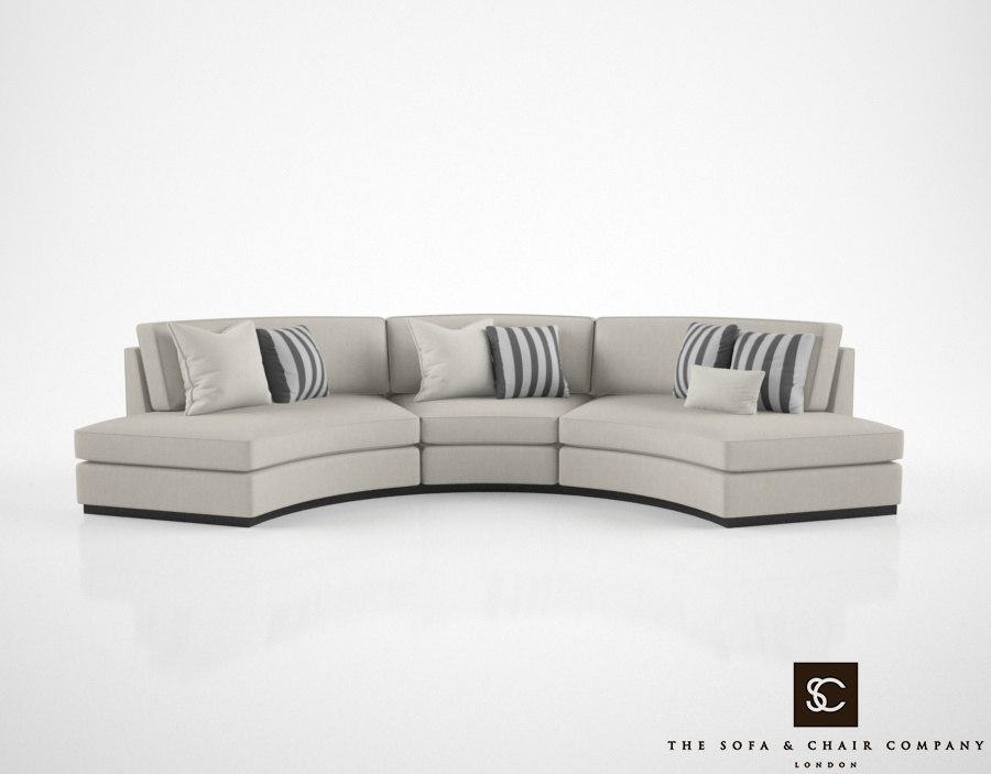 sofa chair atlas 3D model