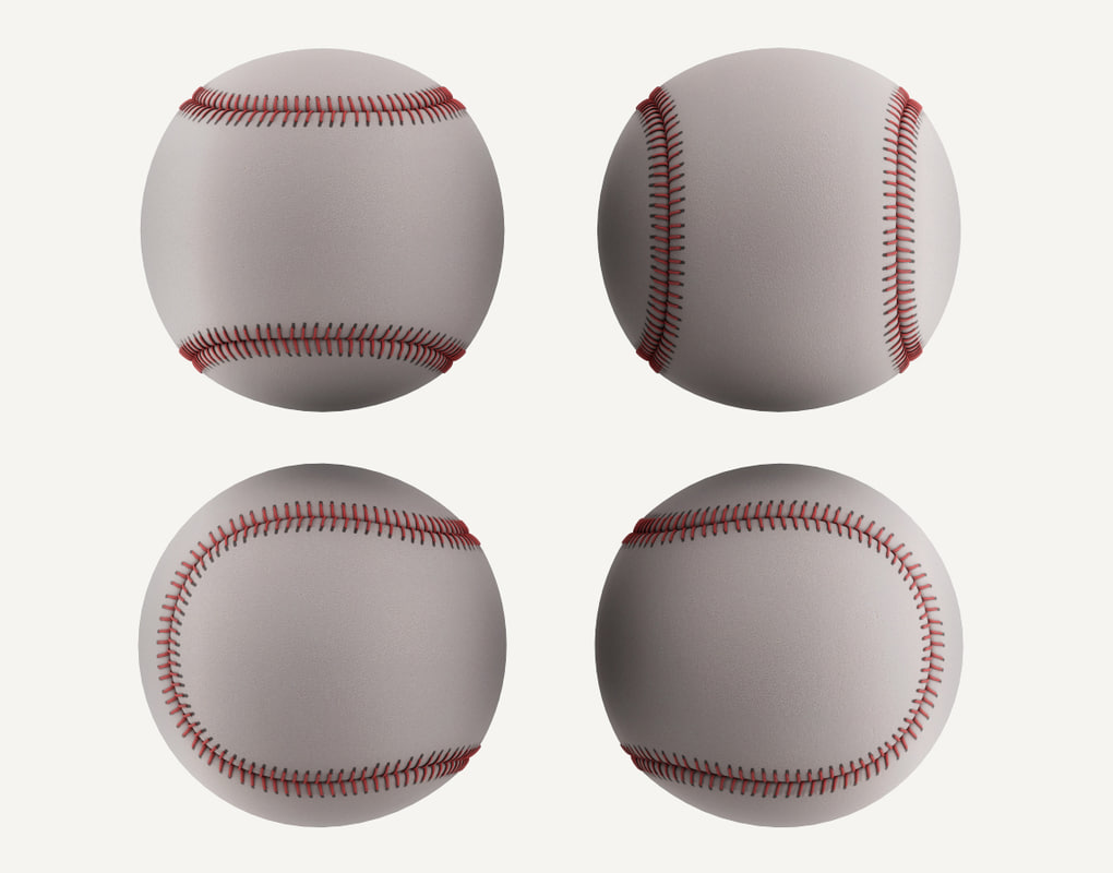ball base baseball model