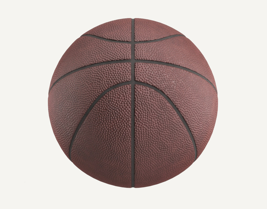 3D ball basket basketball