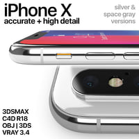 3D model iphone x apple