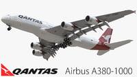 airbus qantas 3D model