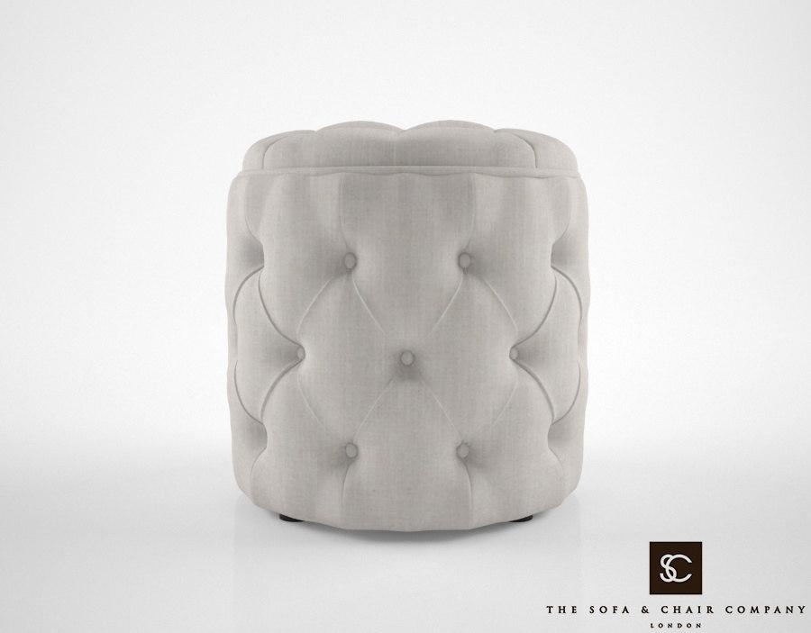 3D sofa chair allegri cube model