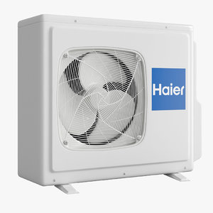 air conditioning - haier 3D model