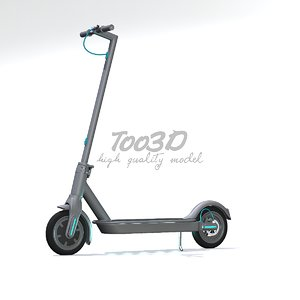 3D e scooter model