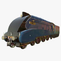 mallard steam train 3D