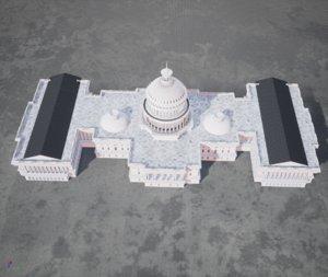capitol units 3D model