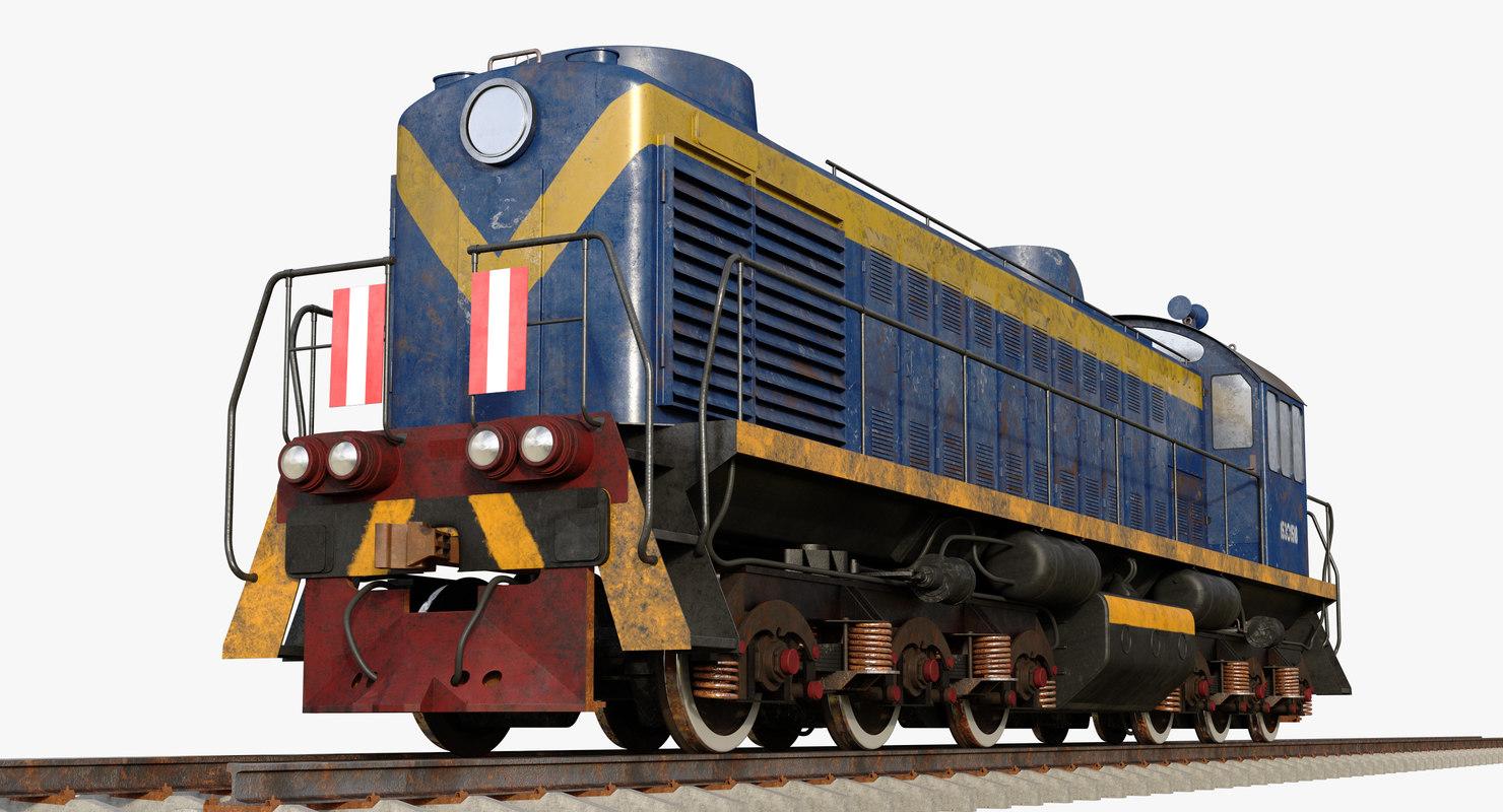 locomotive 3D