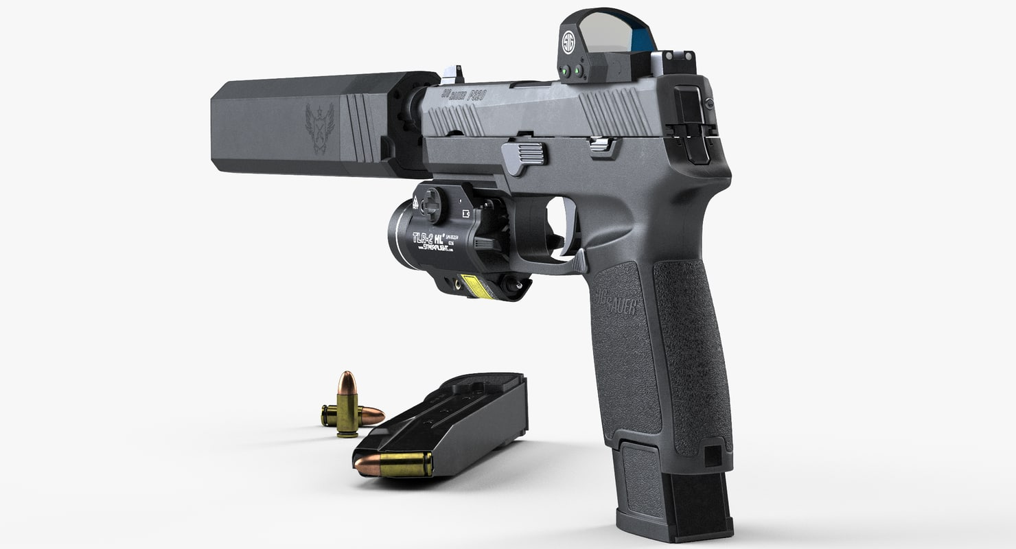 3D sig sauer p320 carry
