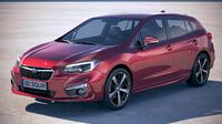 Subaru Impreza Estate EU 2018