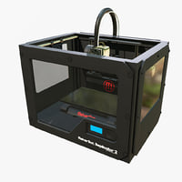 makerbot replicator printer 3D model
