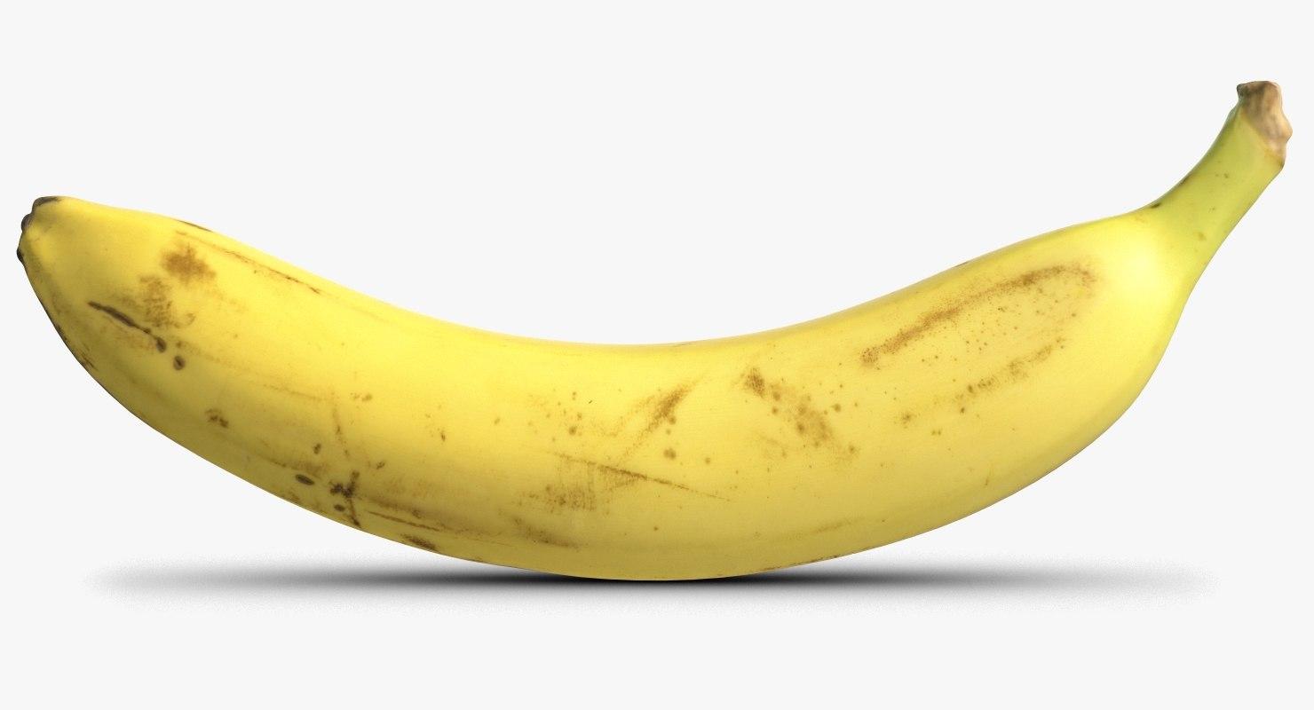 banana 4 3D model