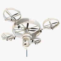 3D reconnaissance drone model