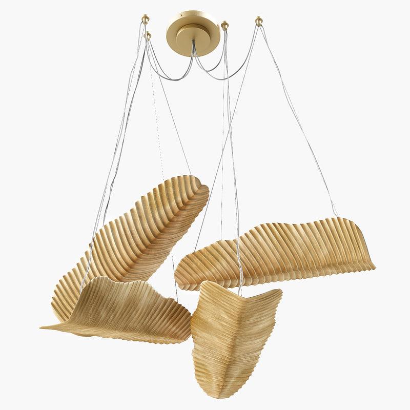 3D jinger jagger bananas suspension