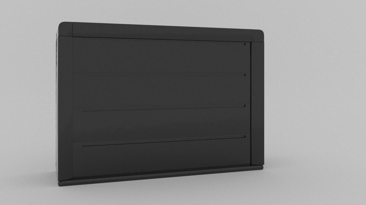 modern sideboard 3D model