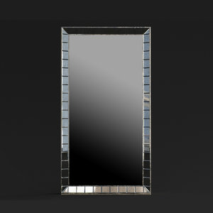3D caracole classic mirror wall