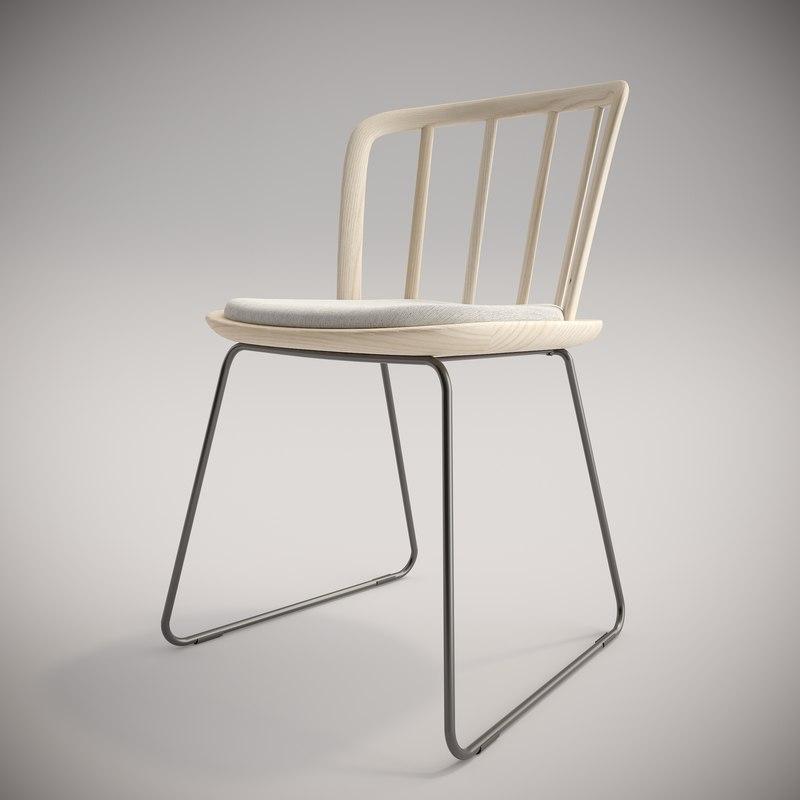 3D nym chair model