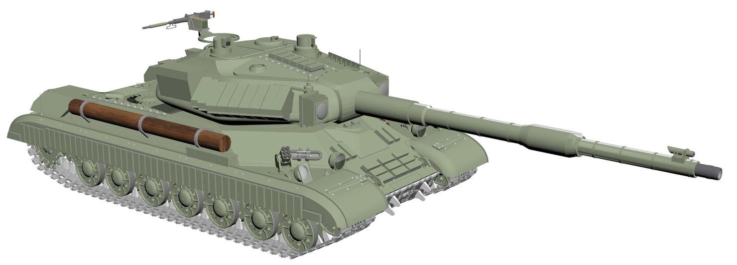 stalin tank - is-4m1 3D model