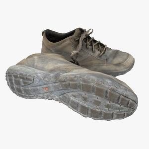 3D cat shoe