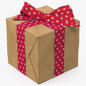 3D model gift box paper 4