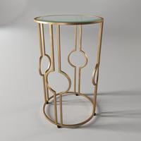 century furniture claire accent 3D model
