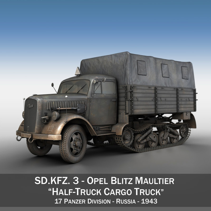sd - opel blitz 3D model