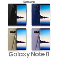 samsung galaxy note 8 3D model