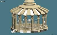 Rotunda in Gold