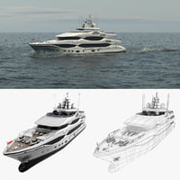 3D phoenix 43m luxury yacht