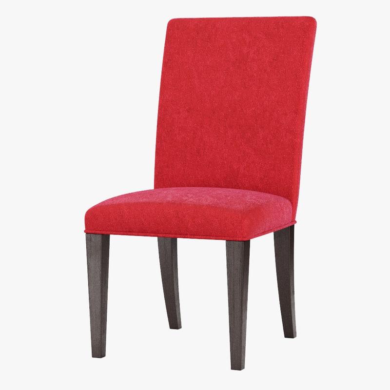 3D model parsons chair