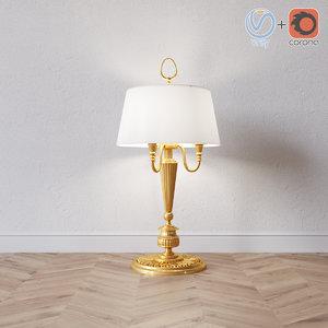 3D stilars table lamp model