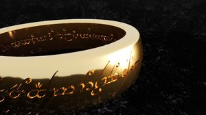 lord rings - omnipotence 3D
