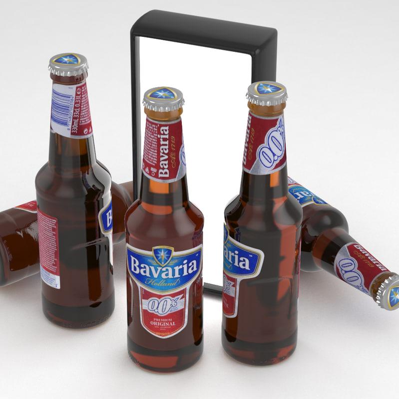 beer bavaria 3D model