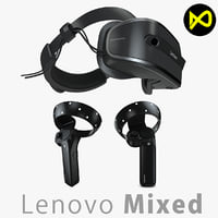 3D lenovo windows mixed reality model