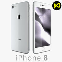 3D apple iphone 8