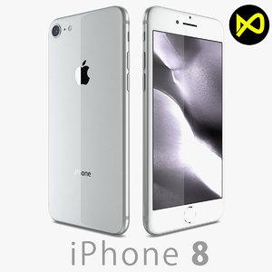 3D apple iphone 8