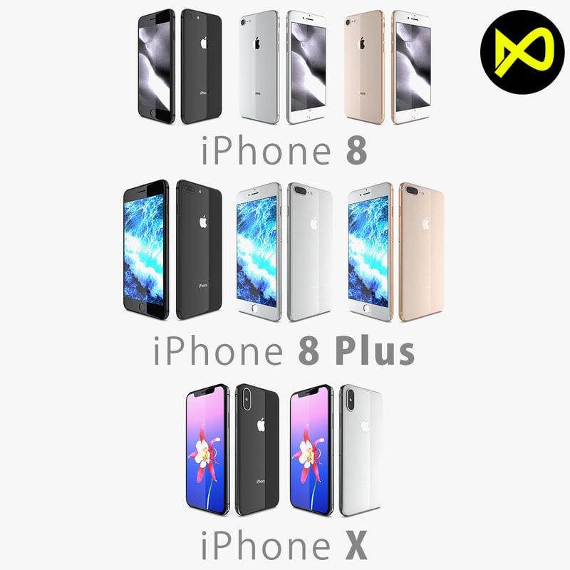 apple iphone x colors model
