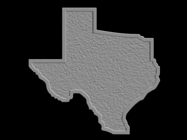 texas box format 3D model