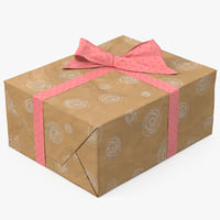 3D gift box paper 6