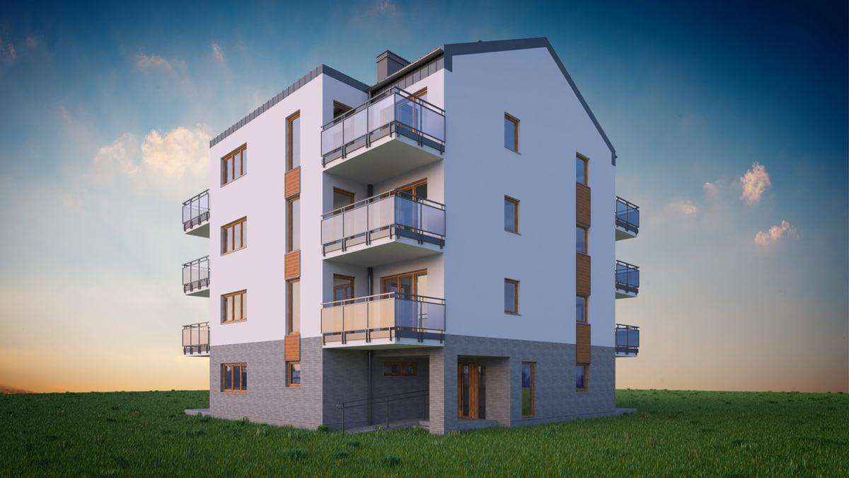 building 04 house exterior 3D