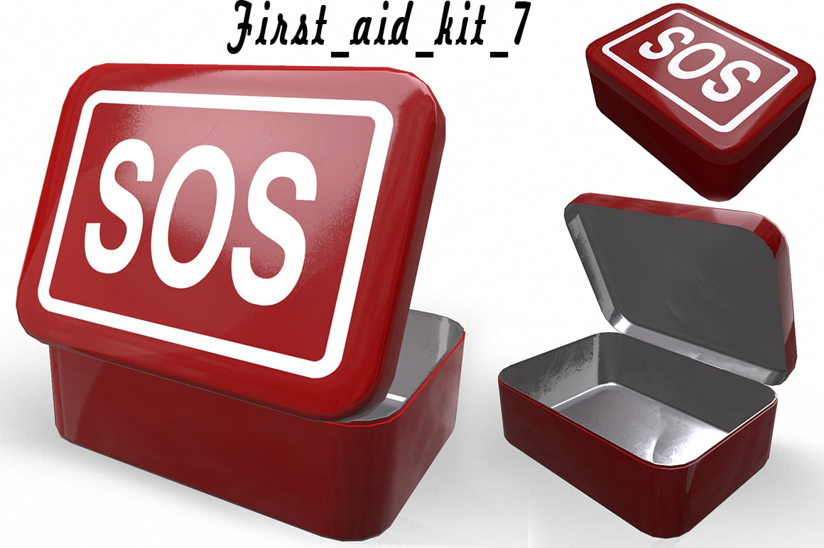 aids kit 3D