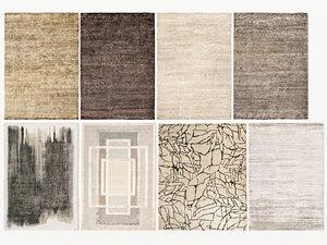3D old carpets