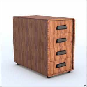 rolling cabinet 3D model
