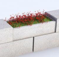 flower fence model