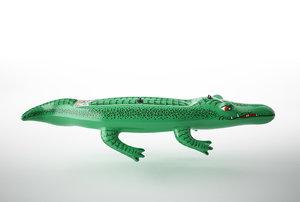 3D model inflatable crocodile